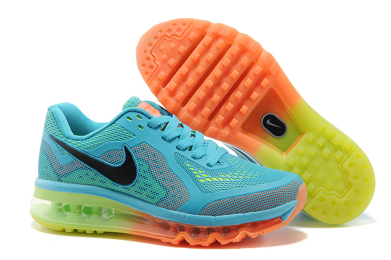 nike air max 1318 blue fluo green